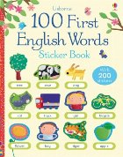 100 First English words sticker