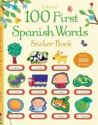 100 First Spanish words sticker