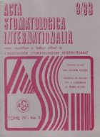 ACTA Stomatologica Internationalia 3/1983