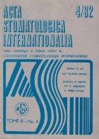 ACTA Stomatologica Internationalia 4/1982