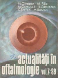 Actualitati in oftalmologie, Volumul 7/89