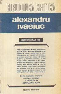 Alexandru Ivasiuc interpretat de...
