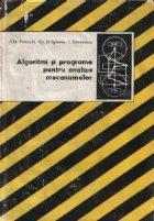 Algoritmi si programe pentru analiza mecanismelor