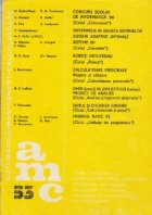 AMC, 53 - Autoamatica. Management. Calculatoare