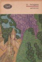 Amintiri - Proza, Volumul al II-lea