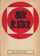 Anale de istorie, Anul XXI, Nr.4/1975