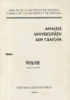 Analele Universitatii din Craiova, Seria Teologie, Nr. 5/1999