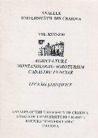 Analele Universitatii din Craiova, Volumul XXXI/2001 - Agricultura. Montanologie-Agroturism. Cadastru Funciar