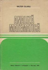 Analiza matematica pentru Facultatile cu profil Mecanic din Institutul Politehnic Bucuresti din Institutul Politehnic Bucuresti