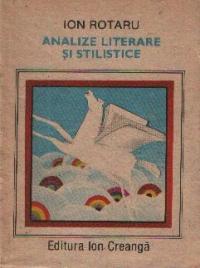 Analize literare si stilistice editia a IV-a, revazuta si adaugita