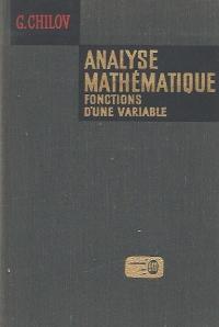 Analyse mathematique. Fonctions d une variable, 3 partie