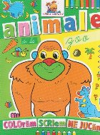 Animale de la zoo - Carte de colorat