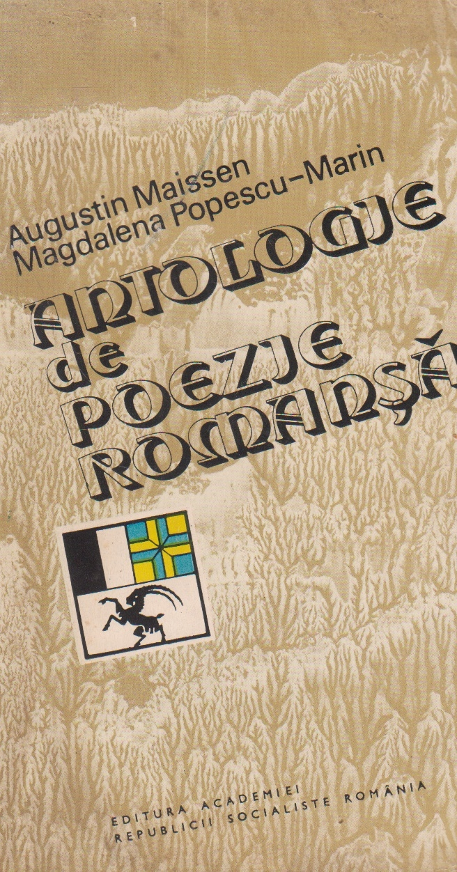 Antologie de poezie romansa