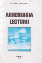 Arheologia lecturii