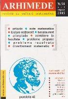 Arhimede - Revista de cultura matematica, Nr. 5-8/2005
