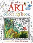 Art colouring book