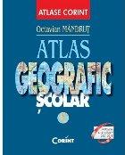 Atlas geografic scolar (coperta albastra)