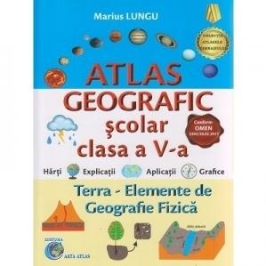 Atlas geografic scolar clasa a V-a