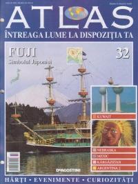 Atlas - Intreaga lume la dispozitia ta, Nr. 32 - Fuji Simbolul Japoniei