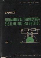 Automatica telemecanica sistemelor energetice Volumul