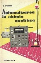 Automatizarea in chimia analitica (Traducere din limba polona)
