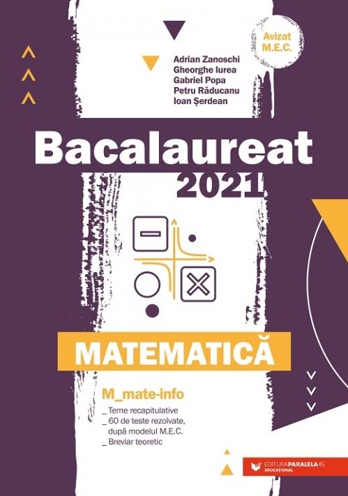 Bacalaureat 2021. Matematica M_Mate-Info