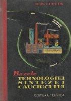 Bazele tehnologiei sintezei cauciucului (Traducere