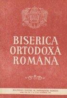 Biserica Ortodoxa Romana Buletinul Oficial