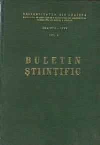 Buletin stiintific, Volumul X, 1968