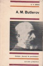 A. M. Butlerov