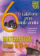 O calatorie prin lunile anului - Matematica, Clasa a VI-a