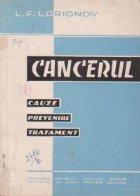 Cancerul cauze prevenire tratament