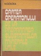 Cartea operatorului de la prepararea substantelor minerale utile