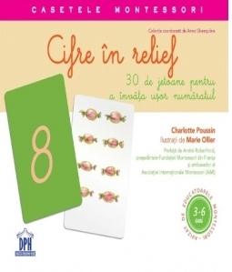 Cifre in relief - 30 de jetoane pentru a invata usor numaratul