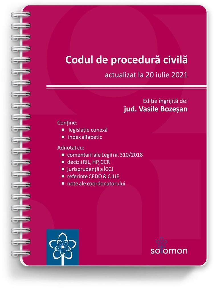 Codul de procedură civilă