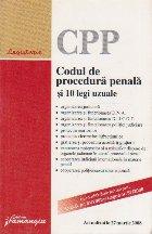 Codul de procedura penala si 10 legi uzuale, actualizat la 27 martie 2008
