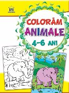 Coloram - Animale - 4-6 Ani