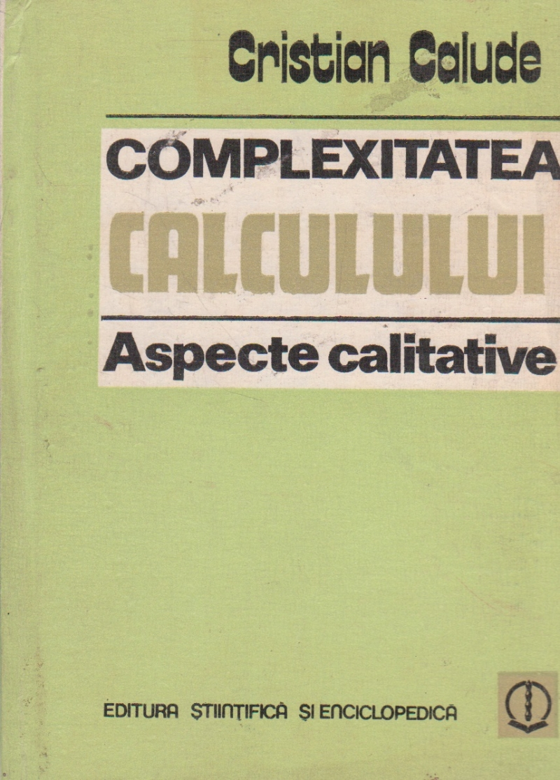 Complexitatea calculului - Aspecte calitative
