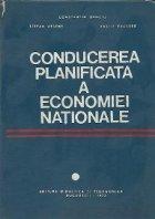 Conducerea planificata a economiei nationale