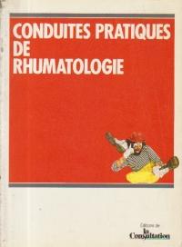 Conduites pratiques de rhumatologie