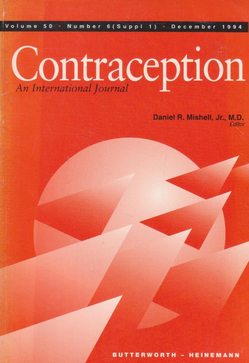 Contraception - An International Journal