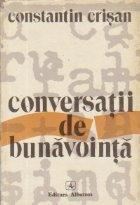 Conversatii bunavointa Eseu despre adevaruri