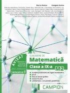 Culegere de matematica M2. Clasa a IX-a, semestrul I. Multimi si elemente de logica matematica, siruri, functii, lecturi grafice, vectori in plan, coliniaritate, concurenta, paralelism