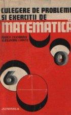 Culegere de probleme si exercitii de matematica