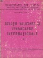 Curs de relatii valutare si financiare internationale, Volumul I