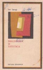 Dialectica estetica studii