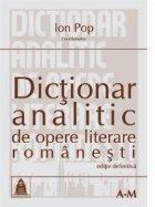 Dictionar analitic opere literare romanesti
