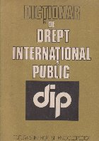 Dictionar de drept international public