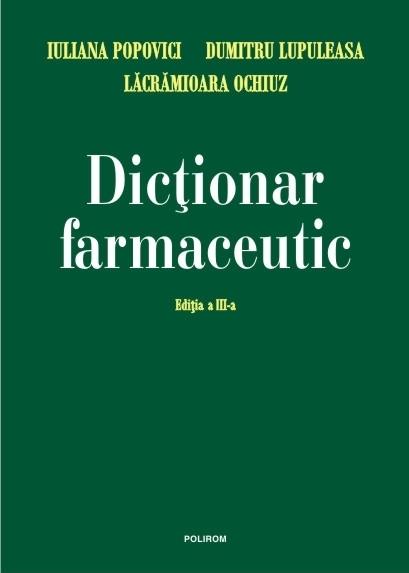 Dictionar farmaceutic