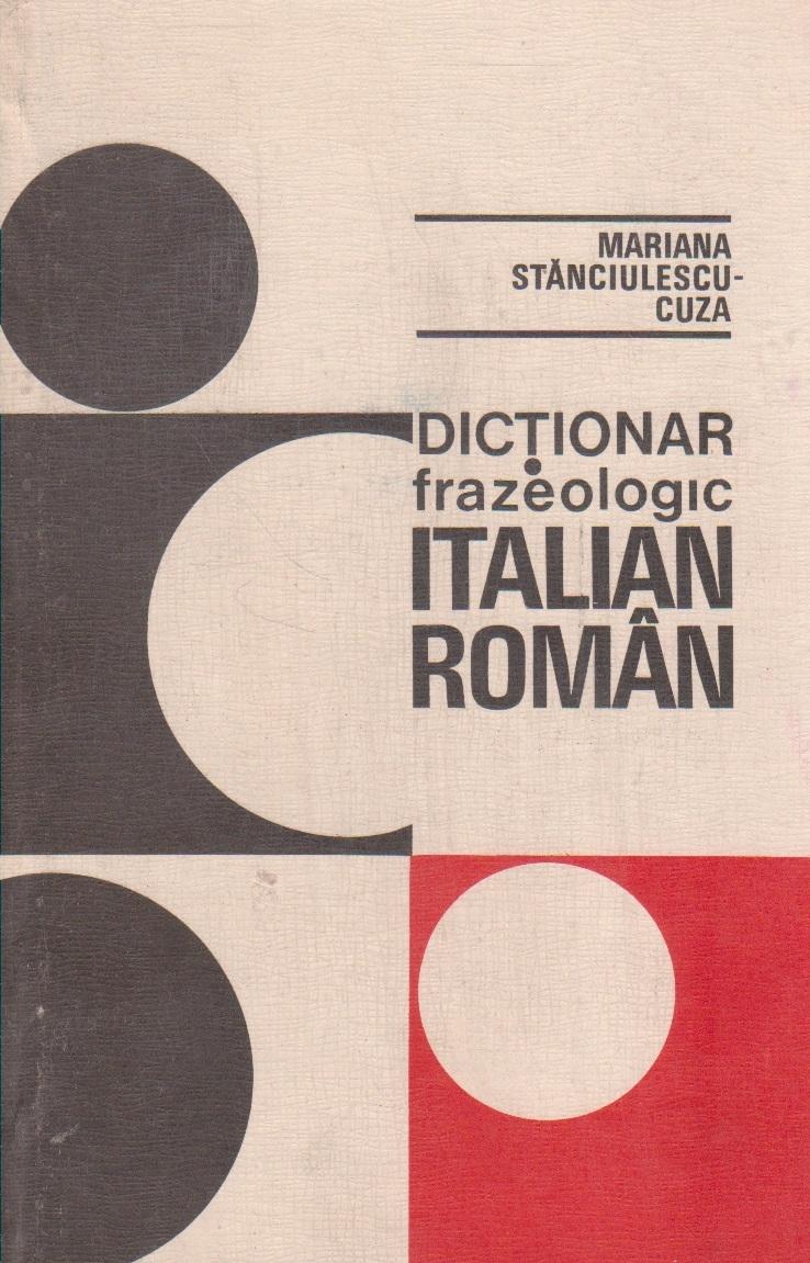 Dictionar frazeologic italian-roman